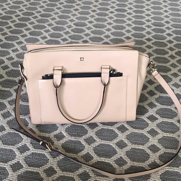 kate spade Handbags - Kate Spade Tan Nude Large purse